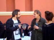 Michel Houellebecq, 5 mai 2012, colloque international sur l'unité de son oeuvre, à Marseille.